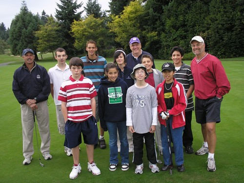 The First Tee Snohomish County student group