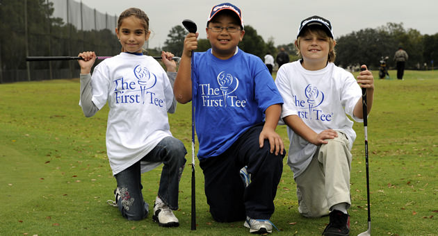 At the core of The First Tee is the Life Skills Experience certification classes. Character development and key success skills are pair with golf skill learning in a unique way by caring coaches. Students progress through the different levels of certification at their own, age-appropriate pace from 'Par Ready' to 'Eagle'